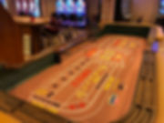 Casino aboard th Crown Pricess -- Craps Table
