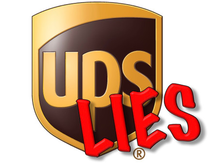 UPS Lies About Delivery Exceptions (Again)