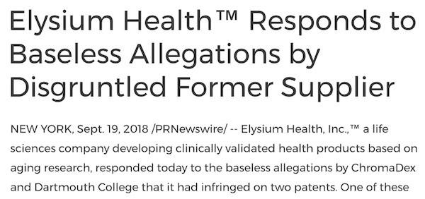 Elysium Lies