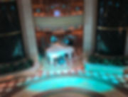 Piano and Pianist in the Crown Princess Piazza