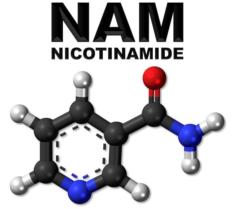 Nicotinamide molecule (NAM)