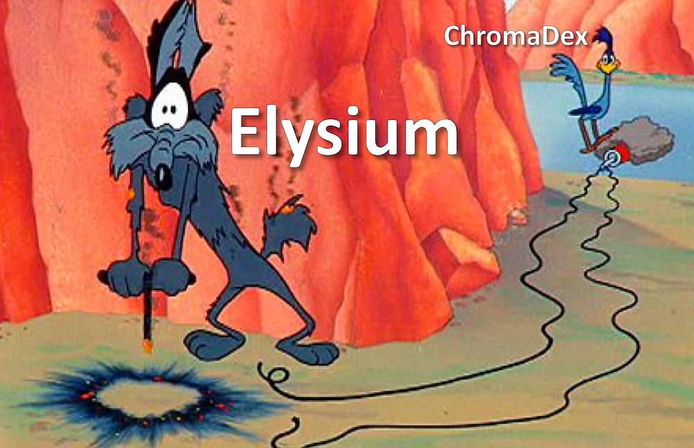 Elysium versus ChromaDex