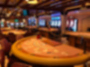 Casino aboard th Crown Pricess -- Blackjack