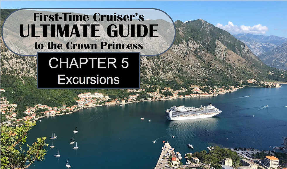 First Time Cruiser's Ultimate Guide -- Chapter 5 Header