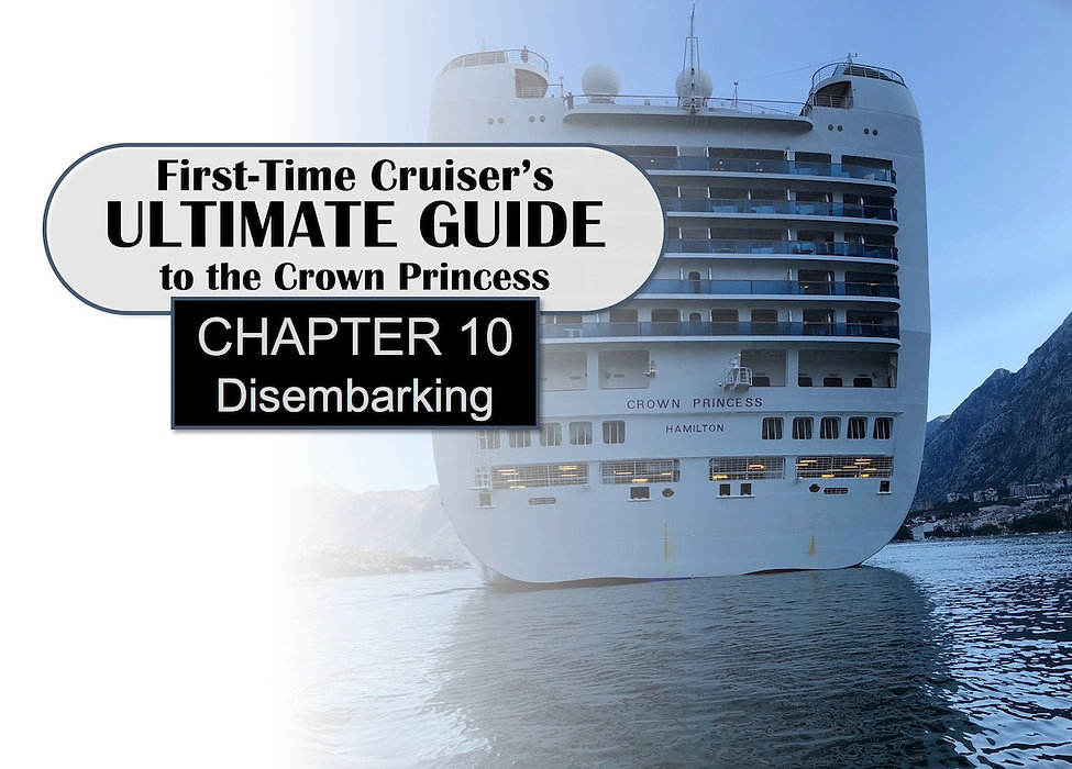 First Time Cruiser's Ultimate Guide Header -- Chapter 10