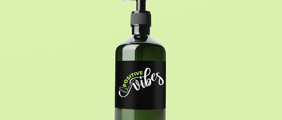 Positive Vibes Sanitizer