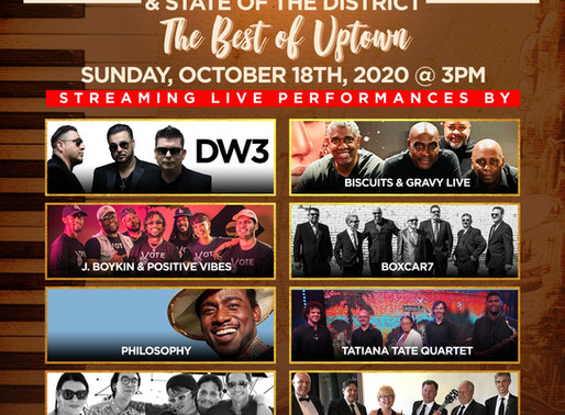 Positive Vibes will be performing at the 9th ANNUAL UPTOWN JAZZ FESTIVAL