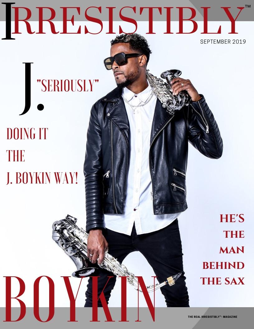 irresistibly j. boykin saxophonist
