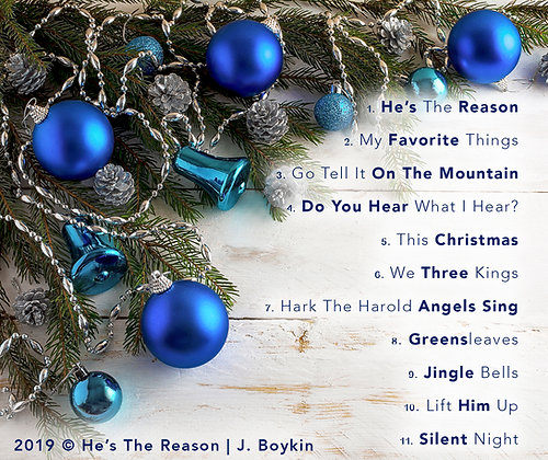 He's The Reason (CD Album)