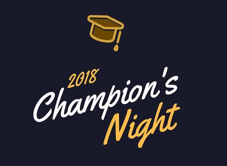Champion's Night 2018