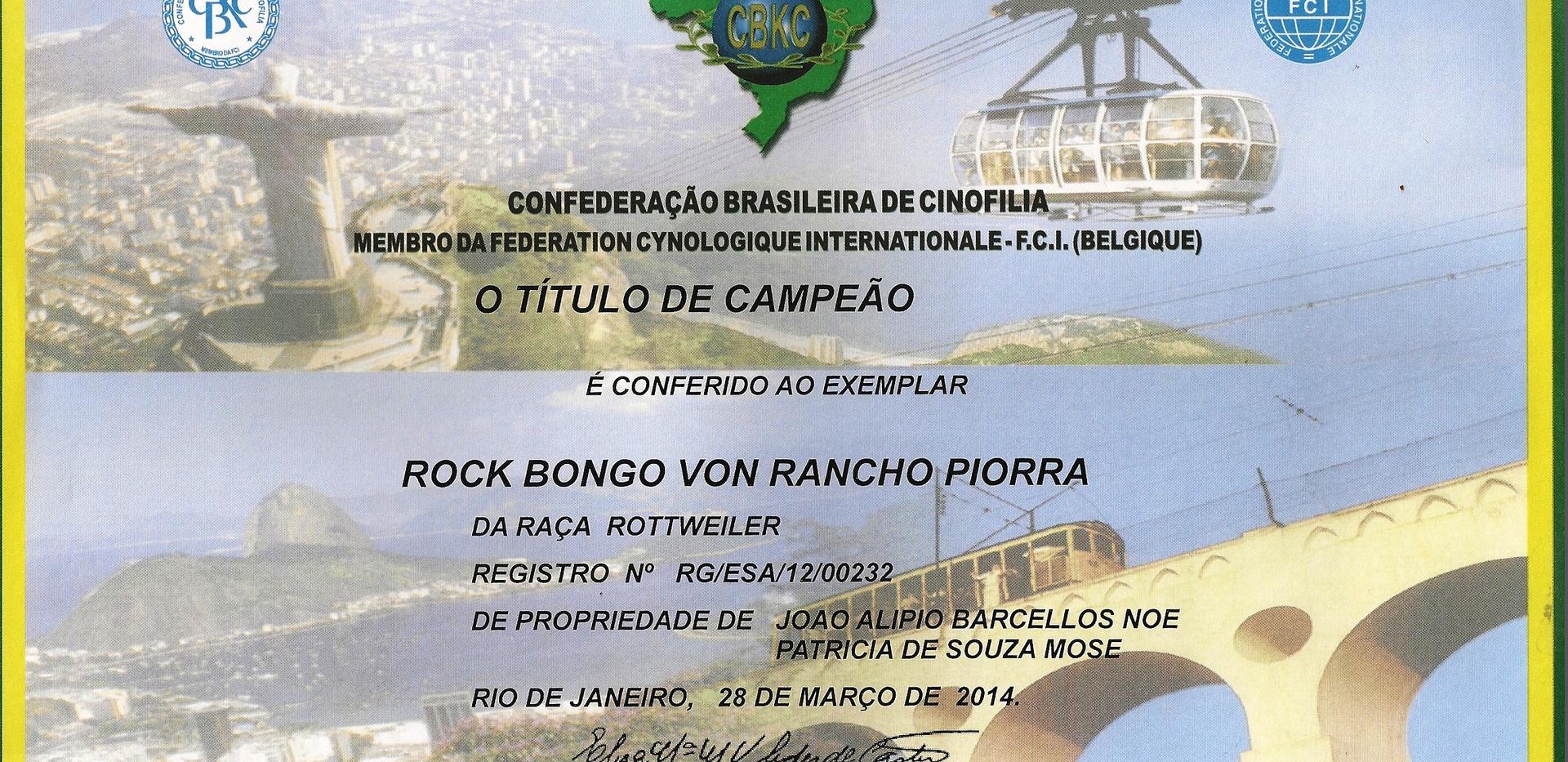 ROCK BONGO VON RANCHO PIORRA