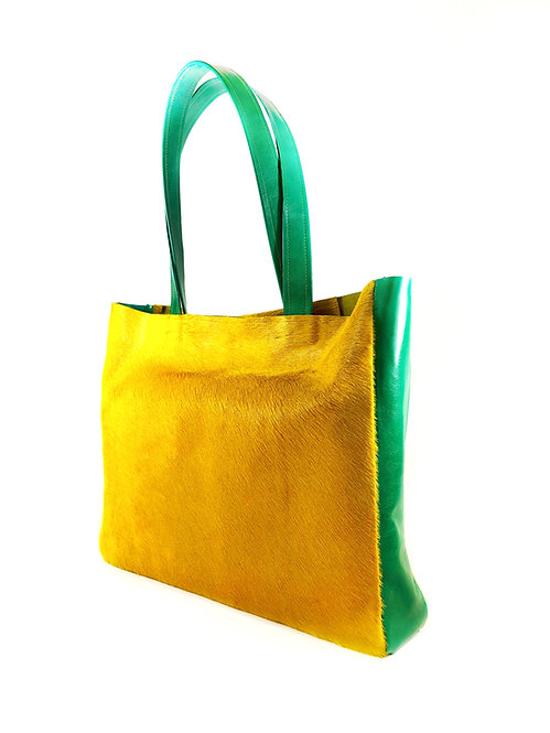 """Anthea"" Shopper Yellow"
