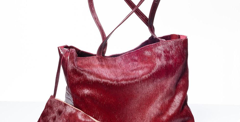 """Anthea""-Shopper Blutbuchenrot"