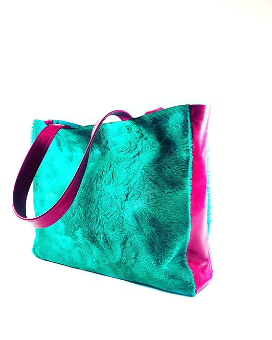 """Anthea"" Shopper mint"
