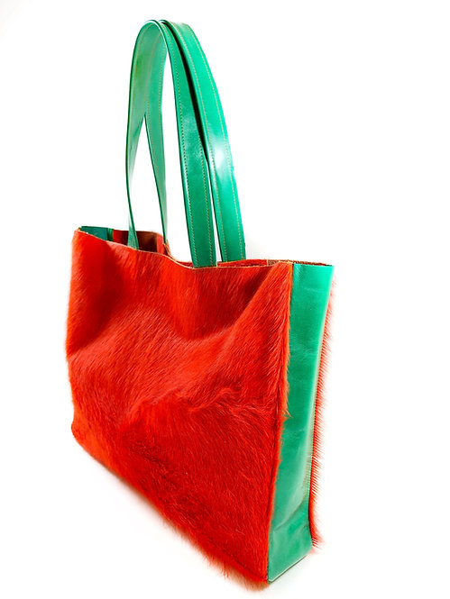 """""""Anthea"""" Shopper Orange"""