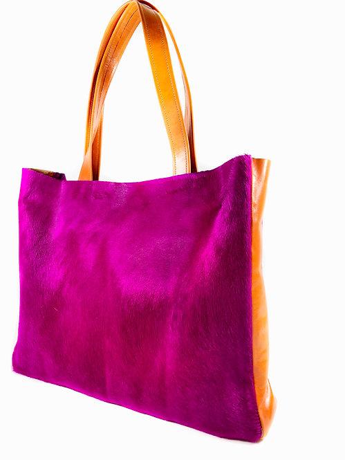 """Anthea"" Shopper Pink"