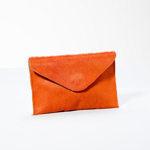 """""""Martha"""" Clutch klein Pumkin Orange"""