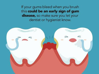 Most people think that bleeding gums are normal, but its quite contrary...