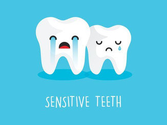 Sensitive Teeth? Make sure you call for an appointment to get it checked before the symptoms get wor