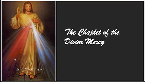 The Chaplet of the Divine Mercy, original music by Moe Leonard