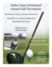 2016 Father Grace Golf Invitational