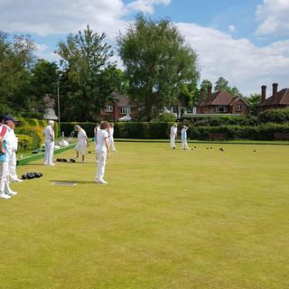 Pembury v Grosvenor Bowls Club