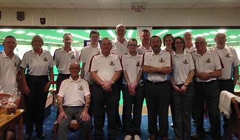 Grosvenor Bowls Club members