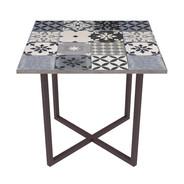 Tavolo ferro e cementine