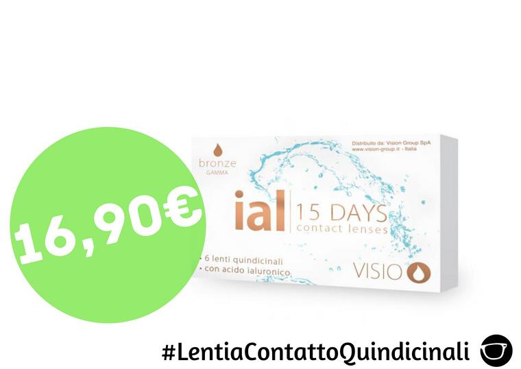 LENTI A CONTATTO QUINDICINALI 16,90€