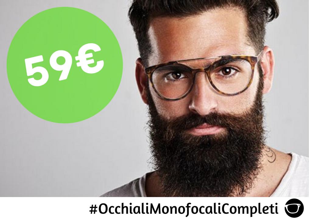 OCCHIALI MONOFOCALI COMPLETI 59€