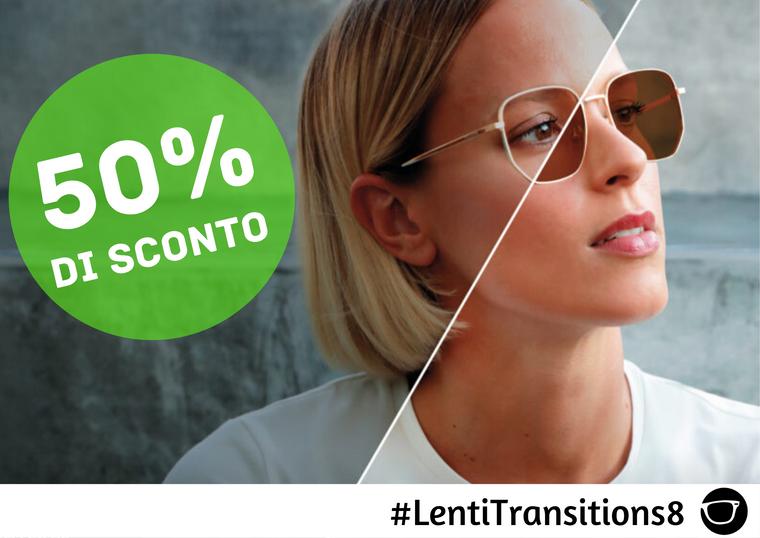 LENTI TRANSITIONS 8 SCONTO 50%