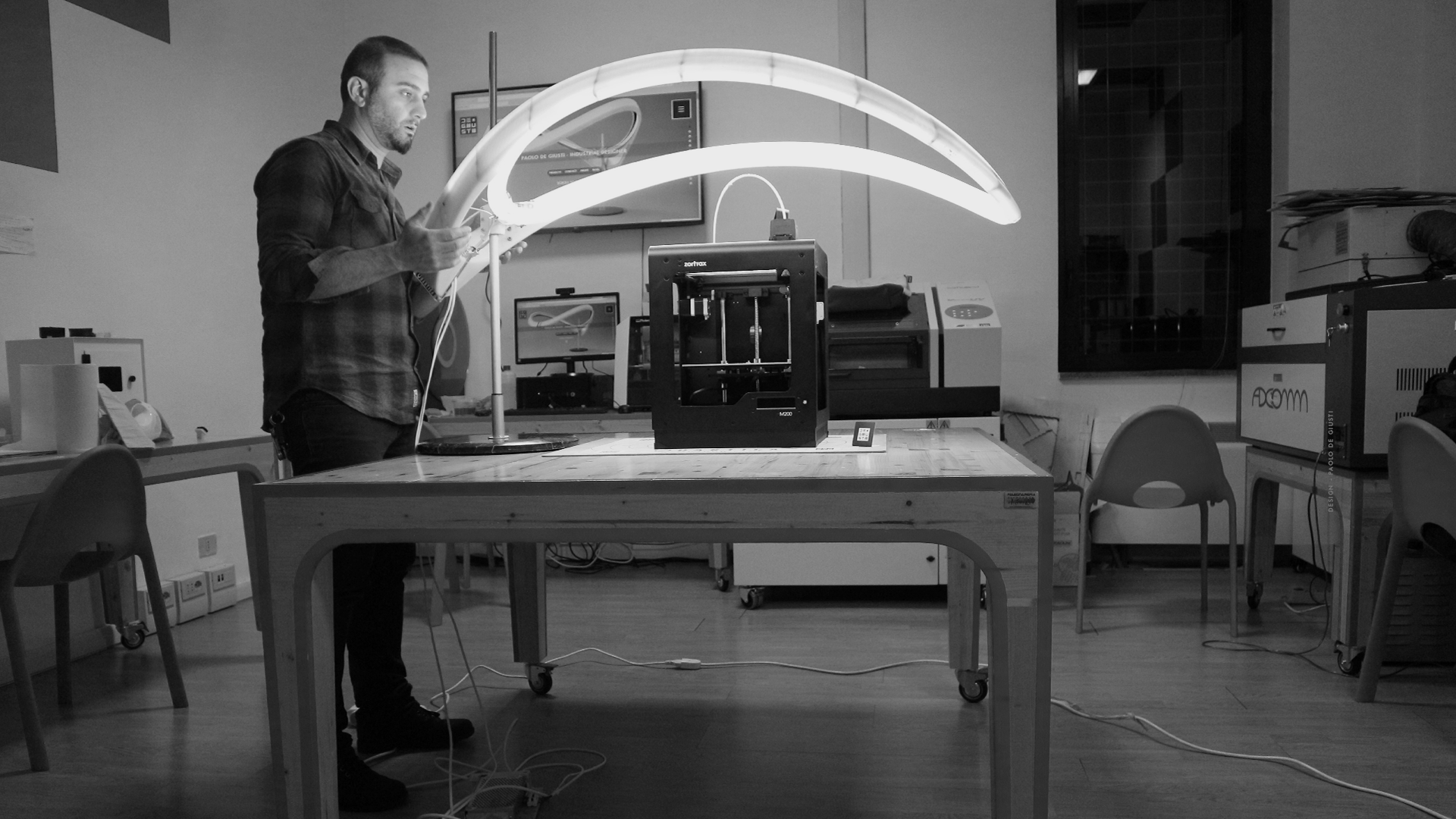QUARTICA PAOLO DE GIUSTI DESIGN INDUSTRIAL LIGHTING NOSHADOW 2 fablab ferentino
