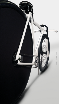 3628 postale paolo de giusti urban pursuit bike messenger hybrid 36 inch big wheel velodrome