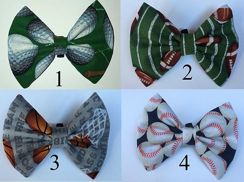 Sports Bundle 7 bow ties packages (Total 70 Bow Ties)