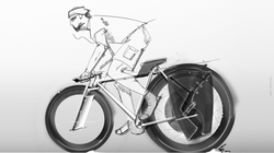 3628 postale paolo de giusti urban pursuit bike messenger hybrid electric