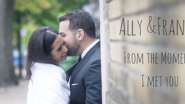 Ally and Franco - Montreal Wedding Videographer