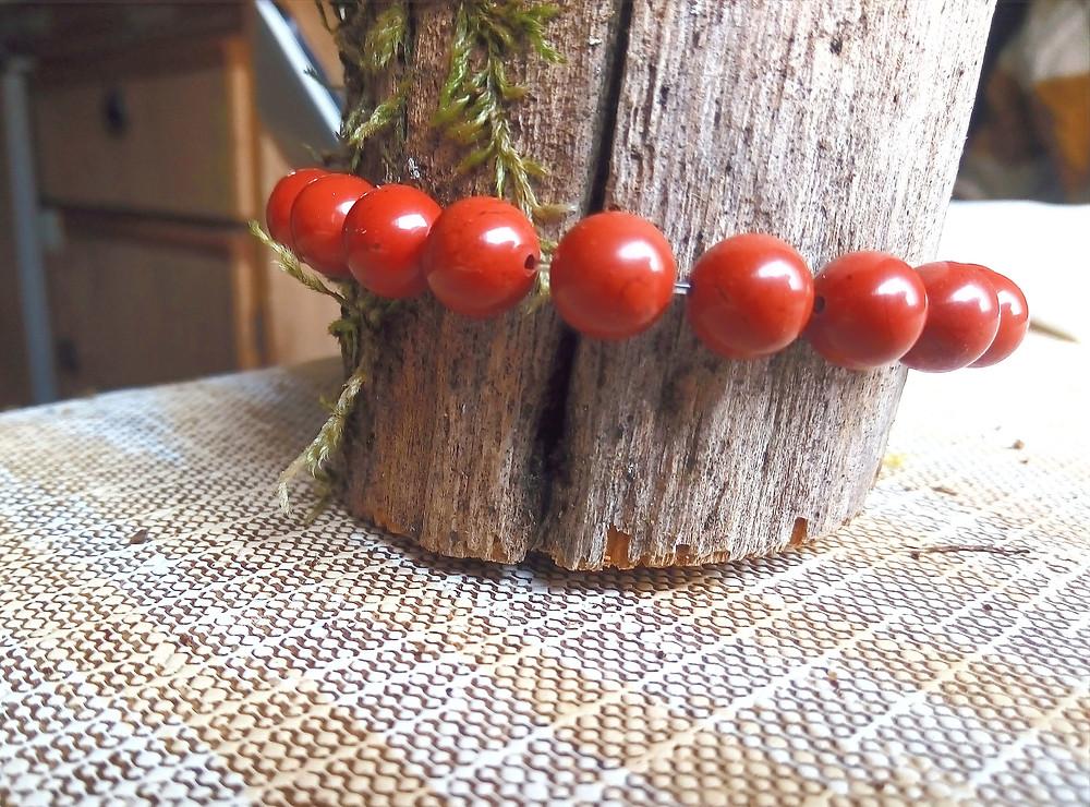 jaspe rouge détendre son élastique