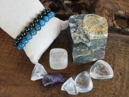 Des pierres qui nettoient !