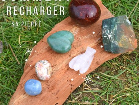 Comment recharger une pierre semi-précieuse ?