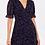 Thumbnail: V-Front Frill Sleeve Mini Dress