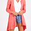Thumbnail: Waterfall Cardigan - Coral