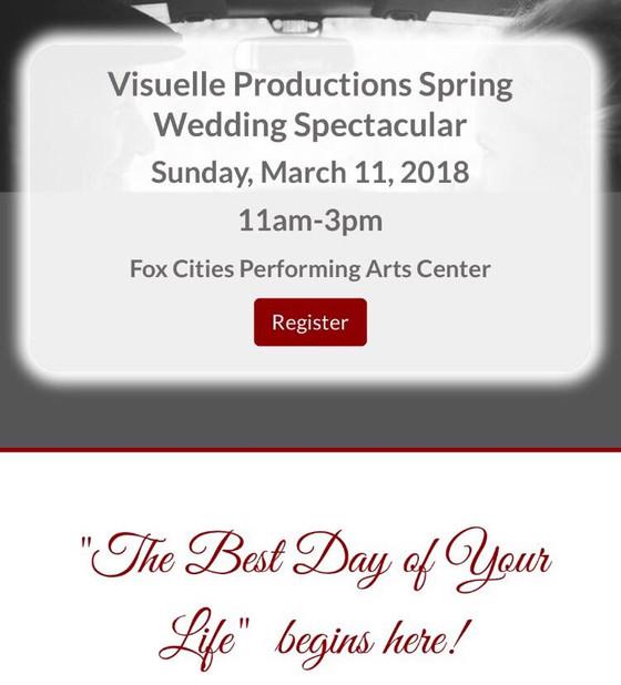 Spring 2018 Visuelle Wedding Show