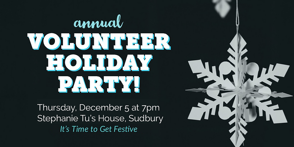Volunteer Holiday Party