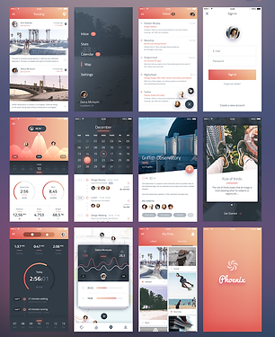 Phoenix-UI-Vol-1-for-iPhone-6-Free-PSD.p