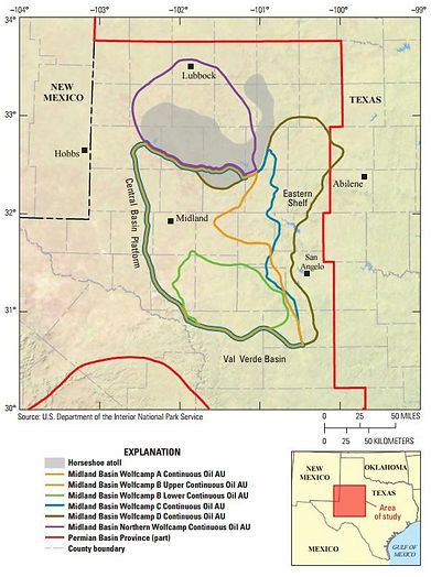 Map-Midland Basin-Wolfcamp-Shale-Map-oil