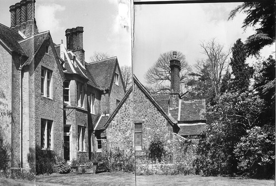 Chithurst House when first found 1979