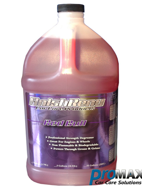 Finish Renu Red Bull | Special Surfactants & Wetting Agents Degreaser