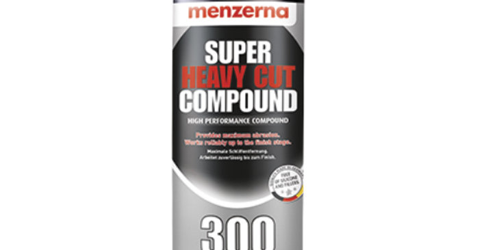 Menzerna Super Heavy Cut Compound 300, 8oz