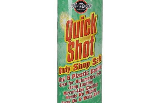 Quick Shot Vinyl & Plastic Coating / Bodyshop Safe (12 Unit/Case)