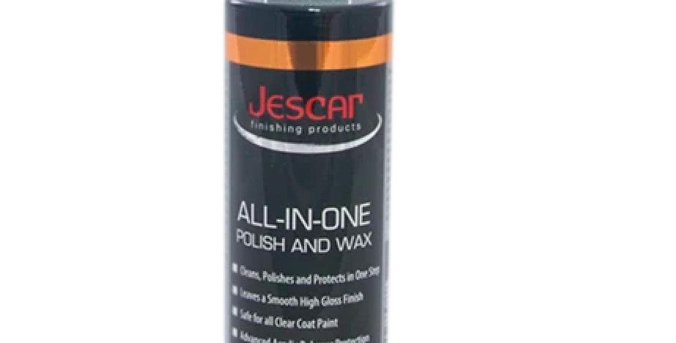 escar All-In-One Polish & Wax, 8oz
